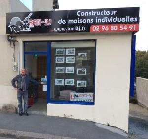 Notre nouvelle agence Bati3J à Dinan est ouverte ! Daniel LECHEVESTRIER est là pour concevoir la maison de vos rêves !
