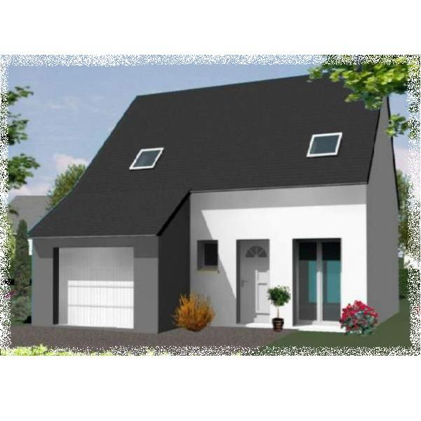 Elegant maison neuve de chambres sur la commune de for Promoteur immobilier maison neuve
