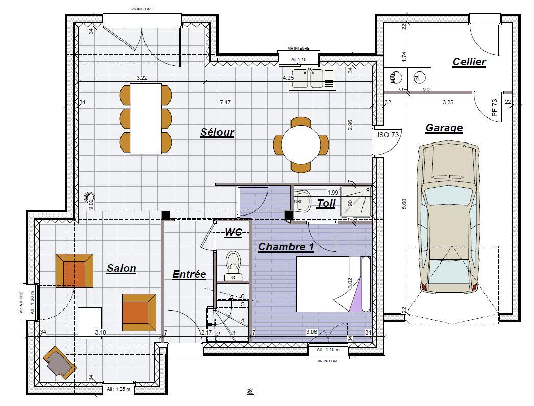 maisons plus de 130000 constructeur maison individuelle. Black Bedroom Furniture Sets. Home Design Ideas